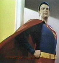 Bob Holiday as Superman in Aqua Velva Ad