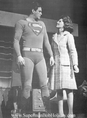 Lois Gazes at Superman