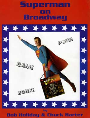 Superman on Broadway book cover