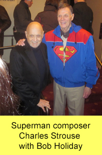 Bob Holiday with Charles Strouse