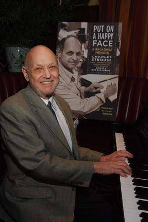 Charles Strouse With His New Book